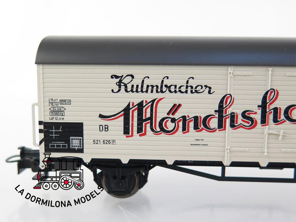 PL379b H0 ~AC MÄRKLIN VAGÓN FRIGORÍFICO Monchshofbrau Bierwagen - S/C