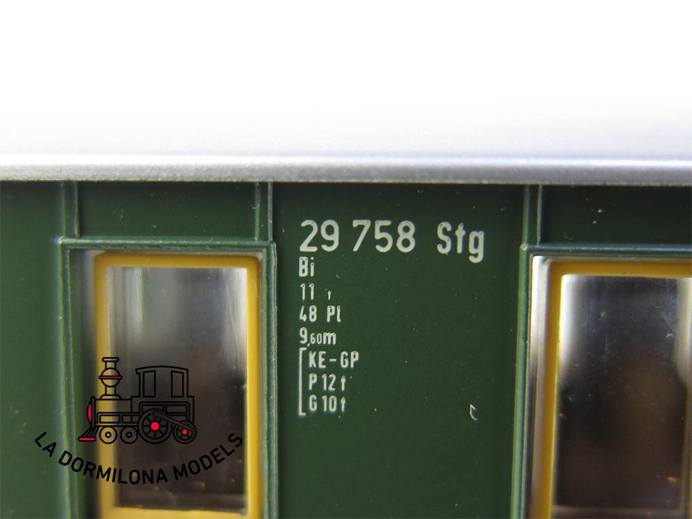 PL381a H0 ~AC MÄRKLIN COCHE PASAJEROS 29758 Stg - S/C