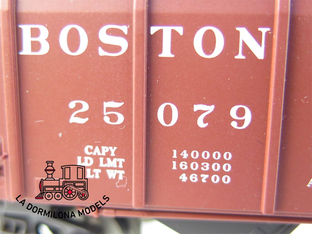 PL382 H0 ~AC MÄRKLIN VAGÓN TOLVA AMERICANO BOSTON & ALBANY - S/C