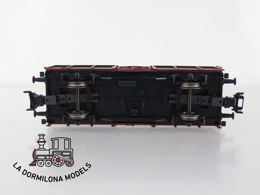 PL385 H0 ~AC MÄRKLIN CONJUNTO 2 VAGONES MERCANCÍAS CARBONEROS DB - S/C