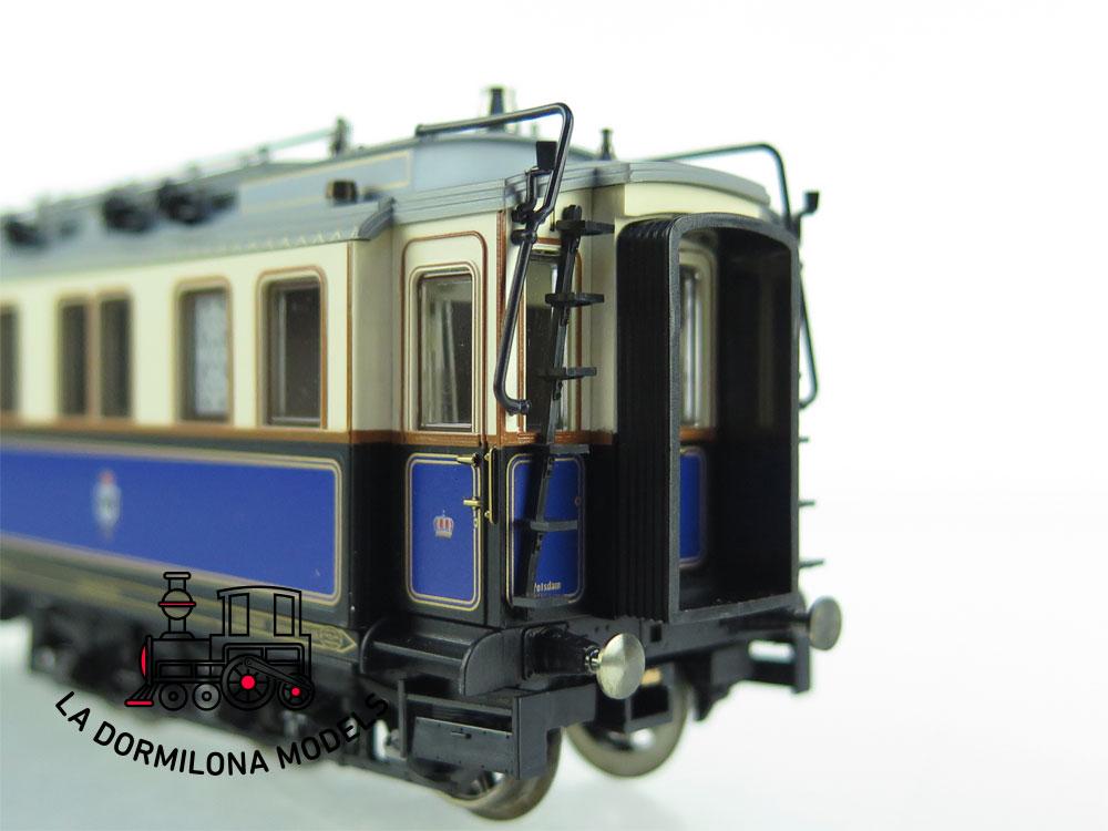 DH59 H0 ~AC MÄRKLIN 2681 SET Personenwagen Hofzug Kaiser Wilhelm II der K.P.E.V. - OVP