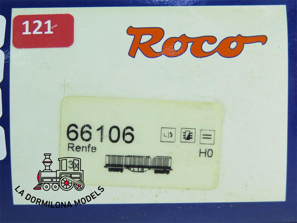 JA121 H0 =DCC + SONIDOS ROCO 66106 Set 3 VAGONES TELESCOPICOS RENFE - OVP