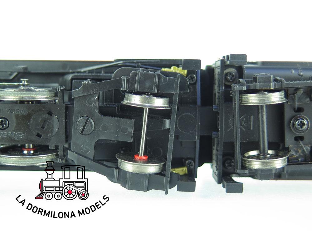 JA124 H0 =DCC + SONIDOS ELECTROTREN E4154 Locomotora Vapor MIKADO 141f-2332 Ep.III - OVP
