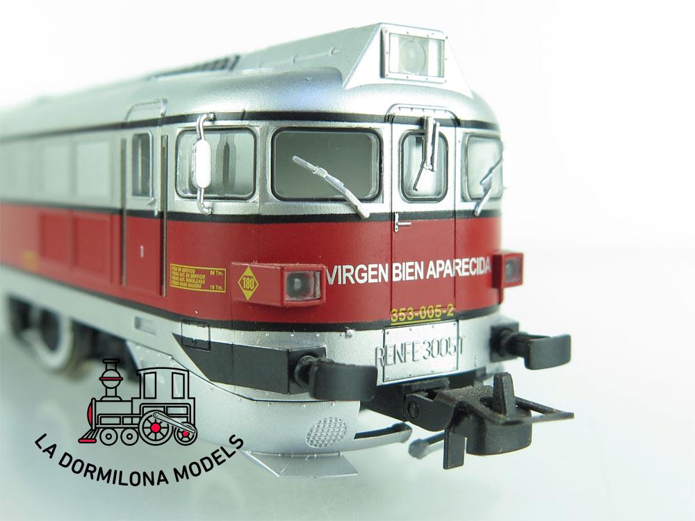 JA125 H0 =DCC + SONIDOS ELECTROTREN 2311 LOCOMOTORA diesel 353 TALGO III REFNE - OVP