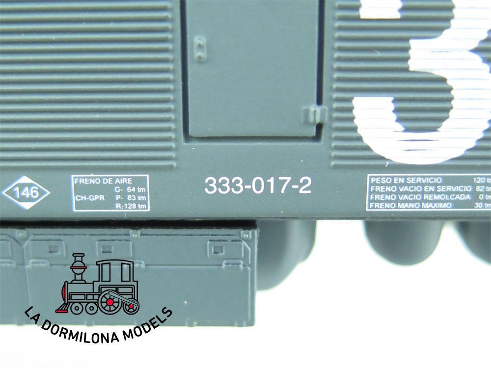 JA127 H0 =DC ELECTROTREN 2040/b LOCOMOTORA DIESEL RENFE 333.017 TAXI - OVP