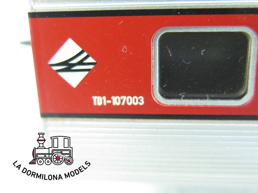 JA137b H0 =DC ELECTROTREN FURGON DELANTERO TALGO III TD1-107003 RENFE - S/C