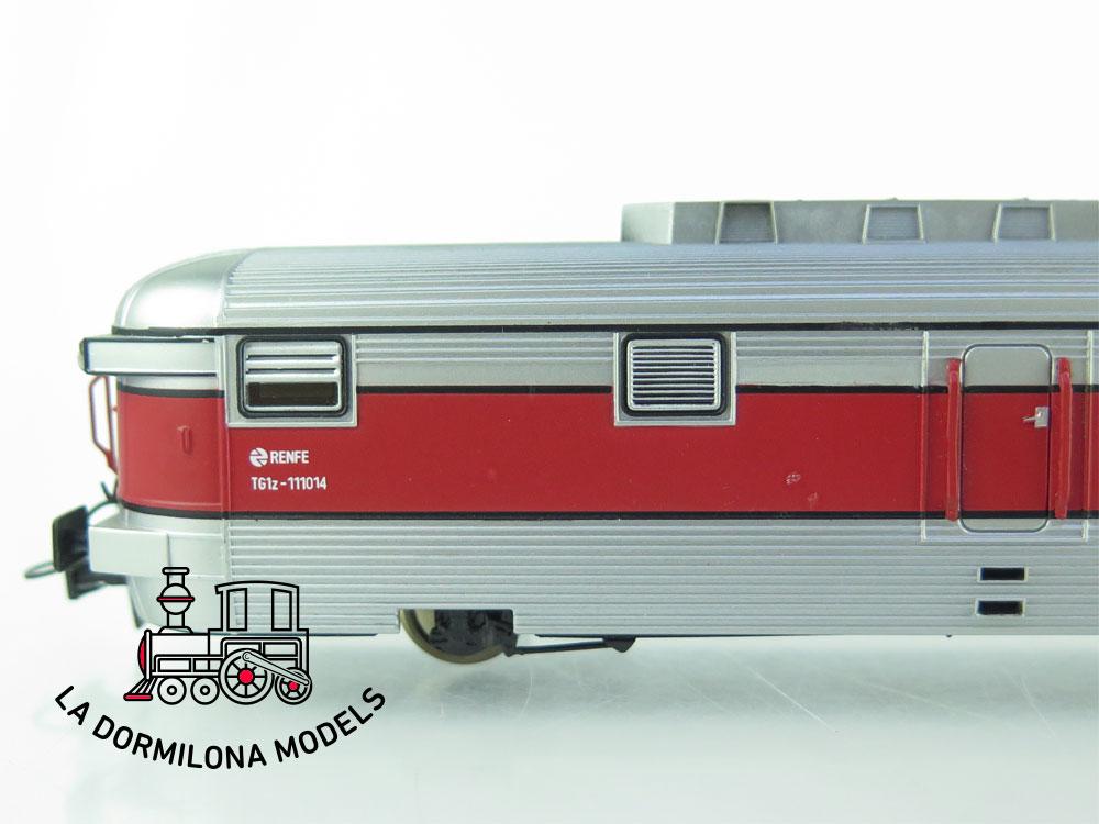 JA148 H0 =DC MABAR 81117 MANSO FURGON GENERADOR TALGO Nº11014 RENFE - OVP