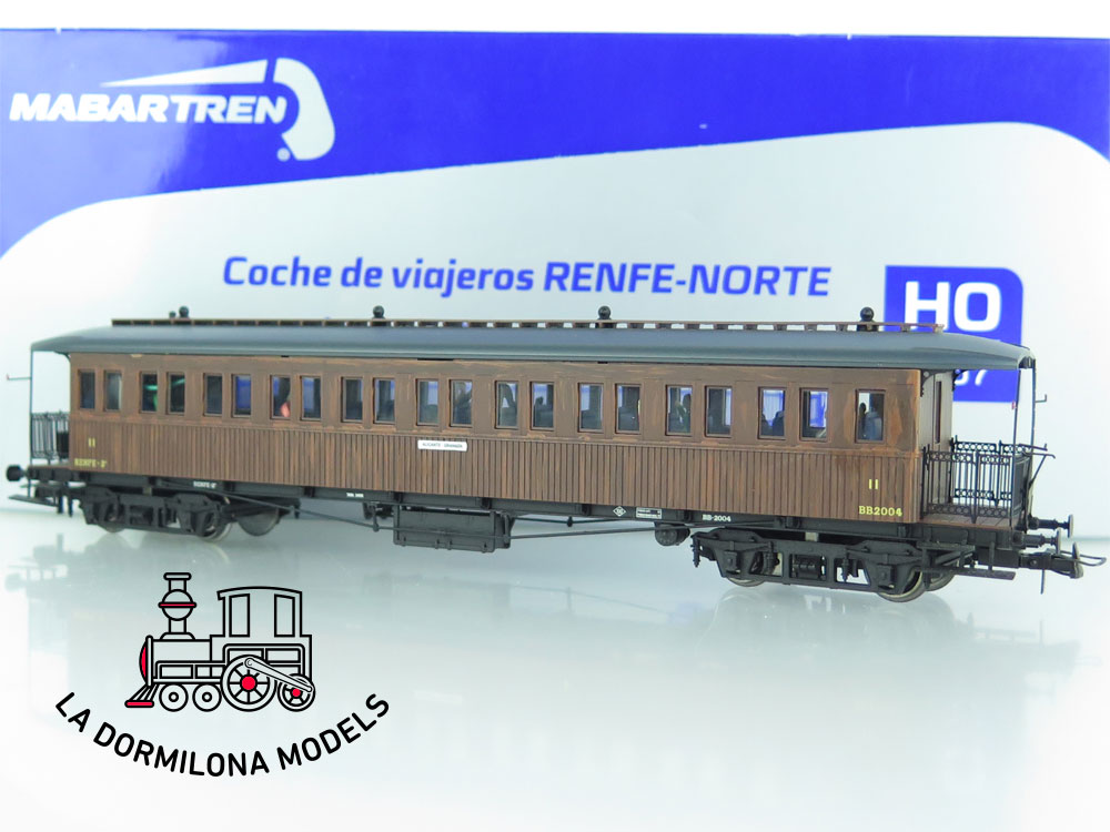 JA150 H0 =DC MABAR 81650 COCHE PASAJEROS RENFE BBC 2004 II Clase OVP