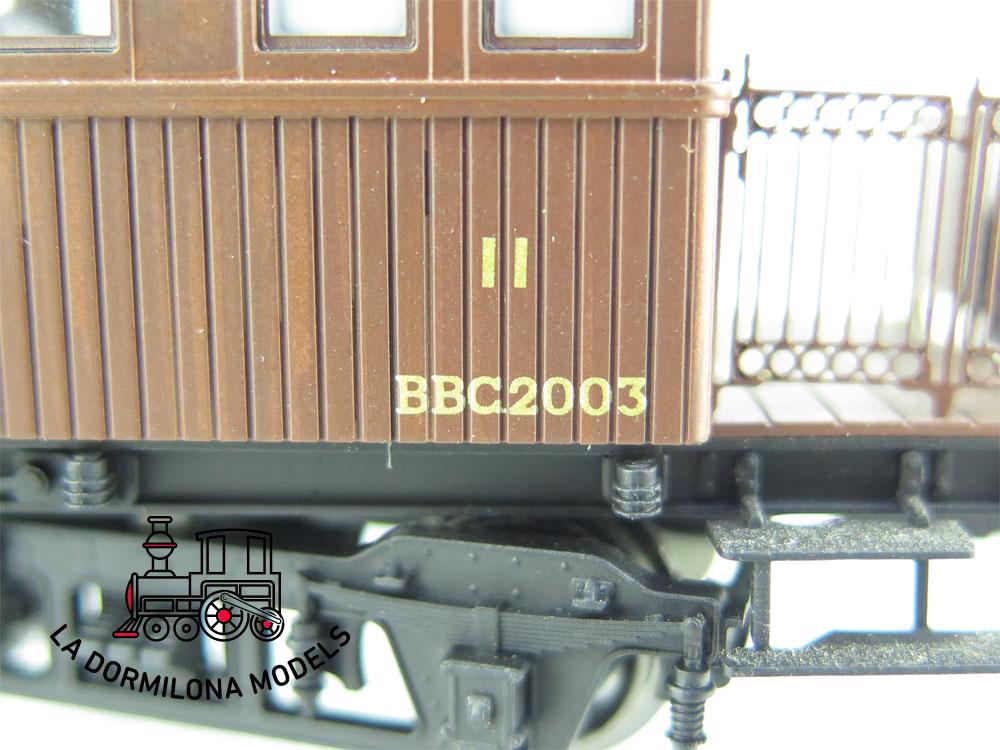 JA151 H0 =DC MABAR 81651 COCHE PASAJEROS RENFE BBC 2003 II/III Clase OVP