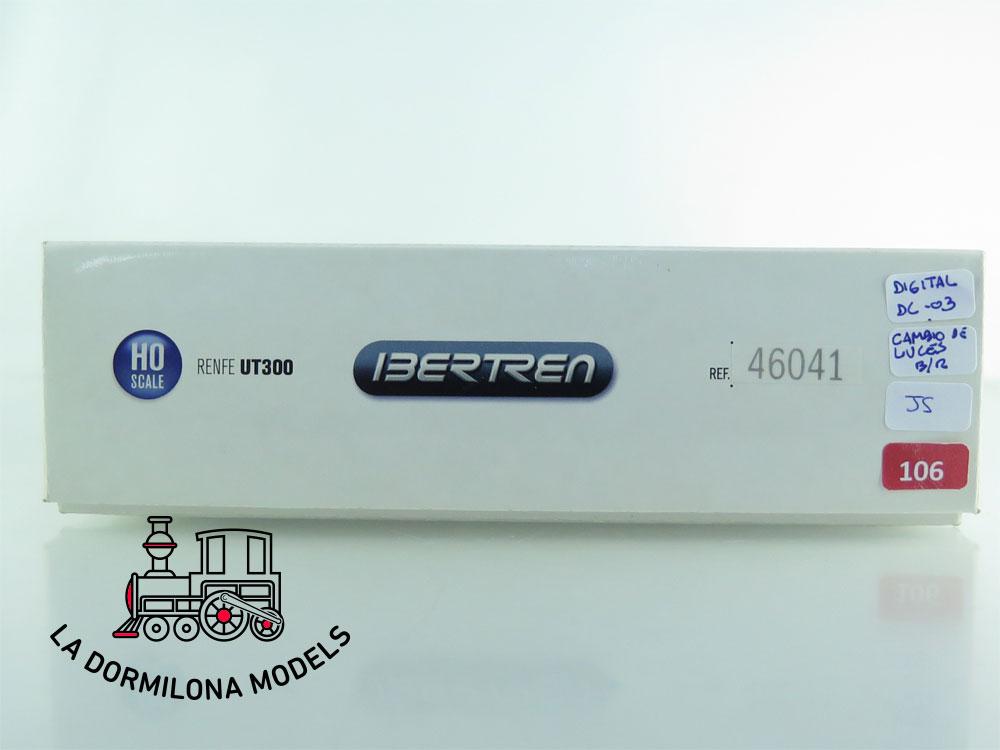 JS106 H0 =DCC DIGITAL IBERTREN 46041 AUTOMOTOR PINGUINO UT300 RENFE - OVP