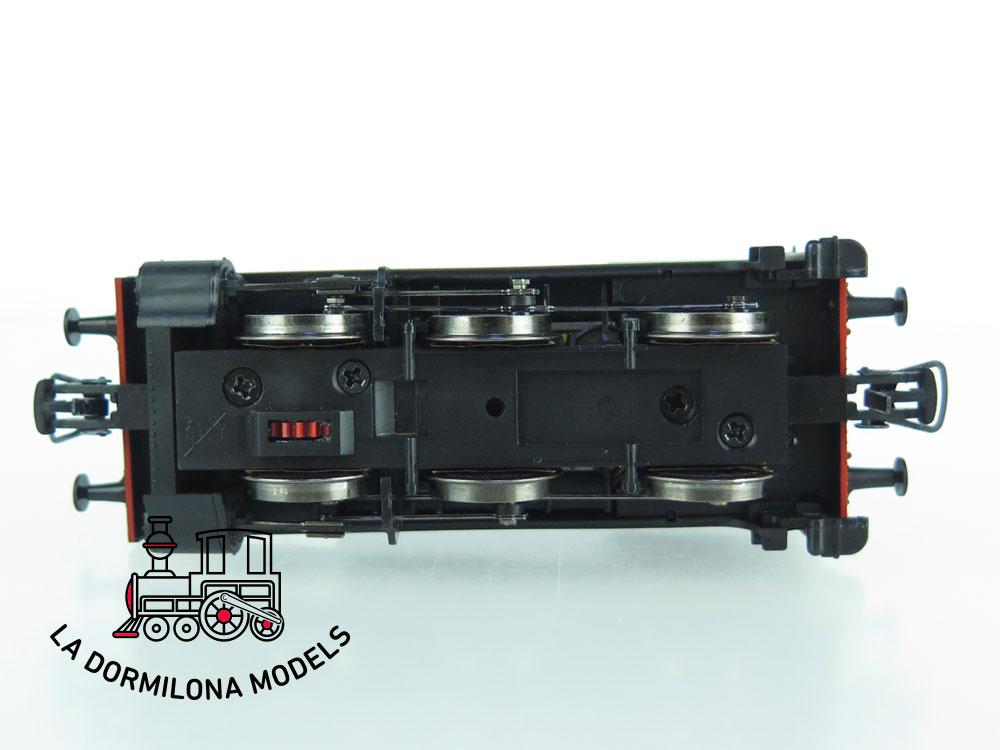 XA108 H0 =DCC DIGITAL ELECTROTREN E0038 LOCOMOTORA VAPOR 030 0232 Ep.III RENFE - OVP