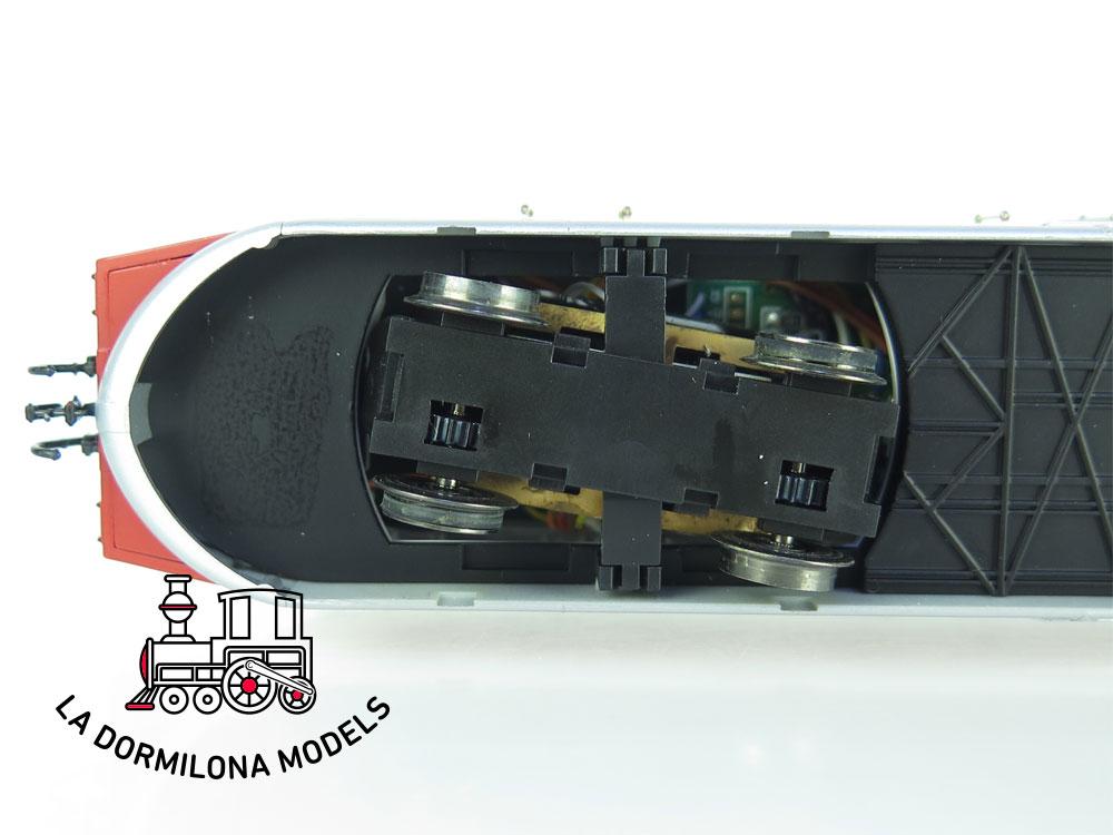 XA109 H0 =DCC DIGITAL ELECTROTREN 2100 AUTOMOTOR ABJ-7 RENFE Ep.III - OVP