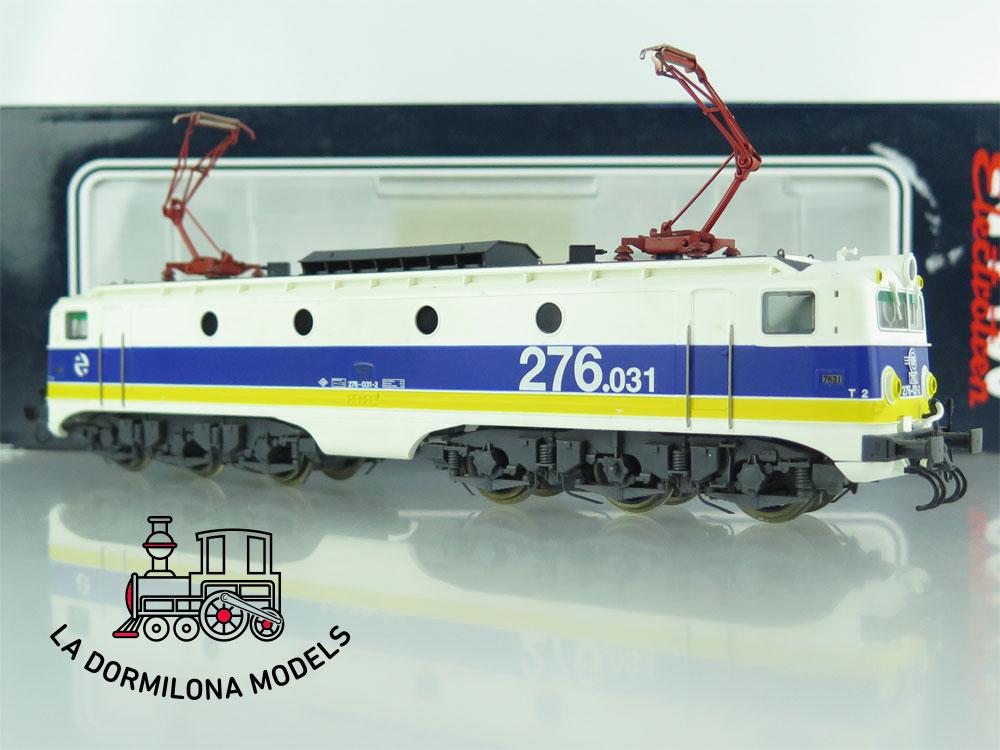 XA110 H0 =DCC DIGITAL ELECTROTREN 2716 Locomotora Electrica 276 031-2 RENFE - OVP