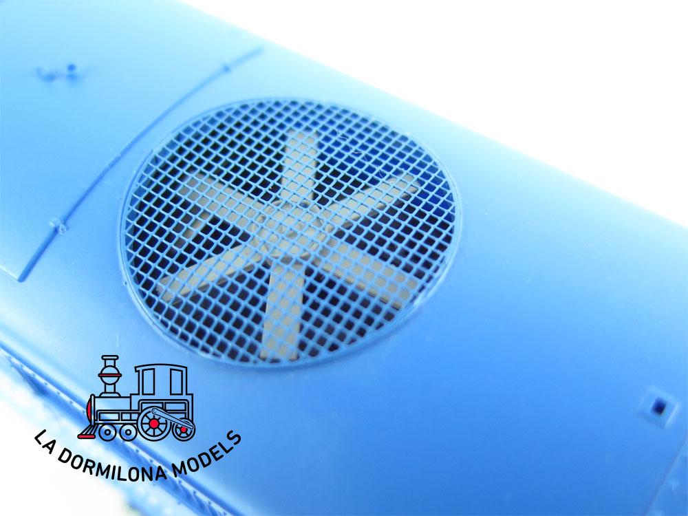 XA112 H0 =DCC DIGITAL ELECTROTREN 3104 Locomotora Diesel 321 Mantenimiento RENFE - OVP