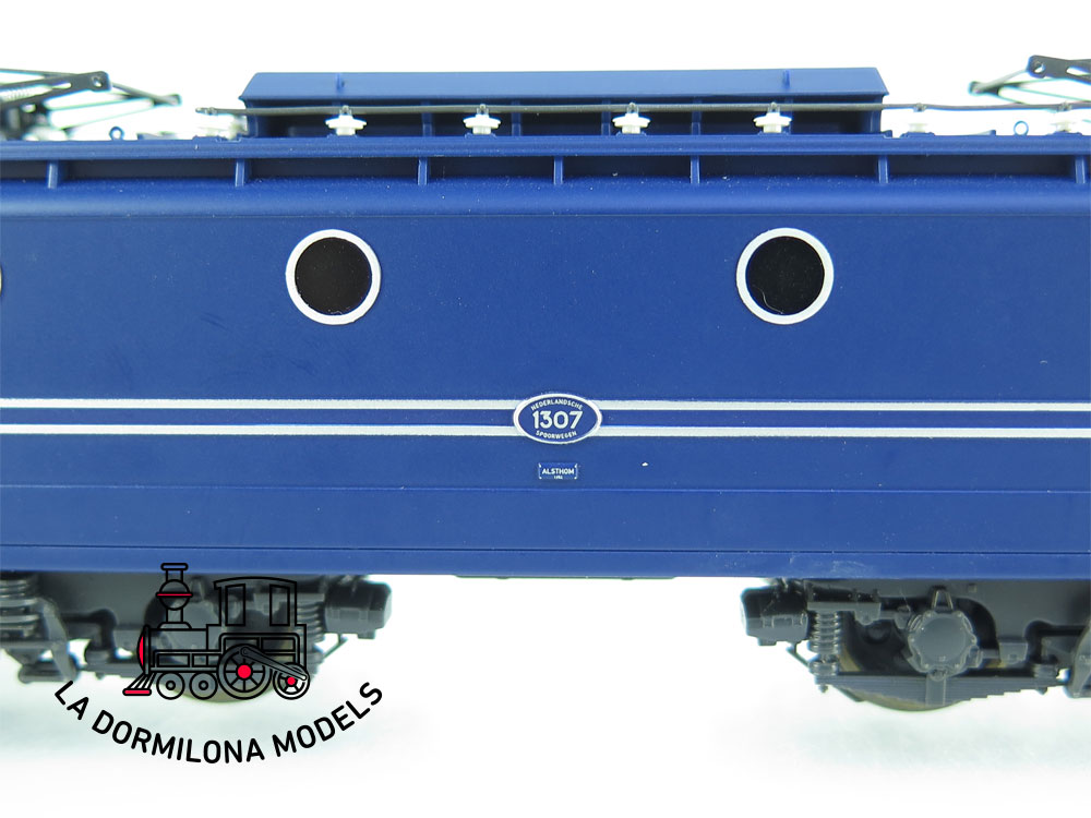 XA113 H0 =DC :::: ELECTROTREN 2710 Locomotora eléctrica 1300 de la NS - OVP