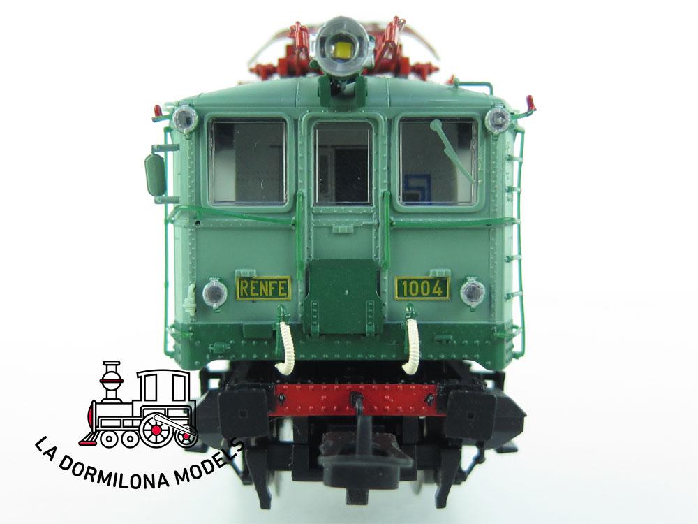 XA116 H0 =DCC DIGITAL ELECTROTREN 2755  Locomotora eléctrica 281 1004 RENFE - OVP
