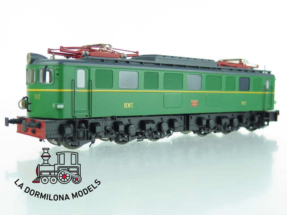 XA120 H0 =DCC DIGITAL IBERTREN 42041 LOCOMOTORA Electrica 7417 RENFE Ep.III - S/C