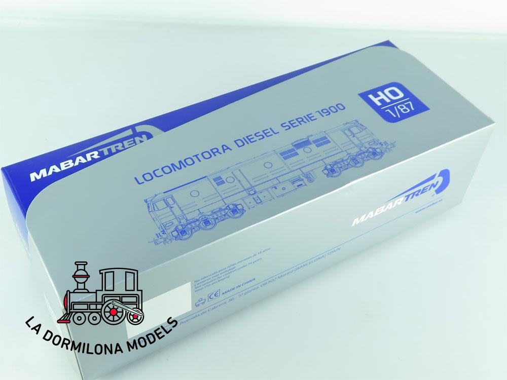 XA130 H0 =DCC + SONIDO MABAR 81503 LOCOMOTORA DIESEL 19904 Ep.V RENFE - OVP