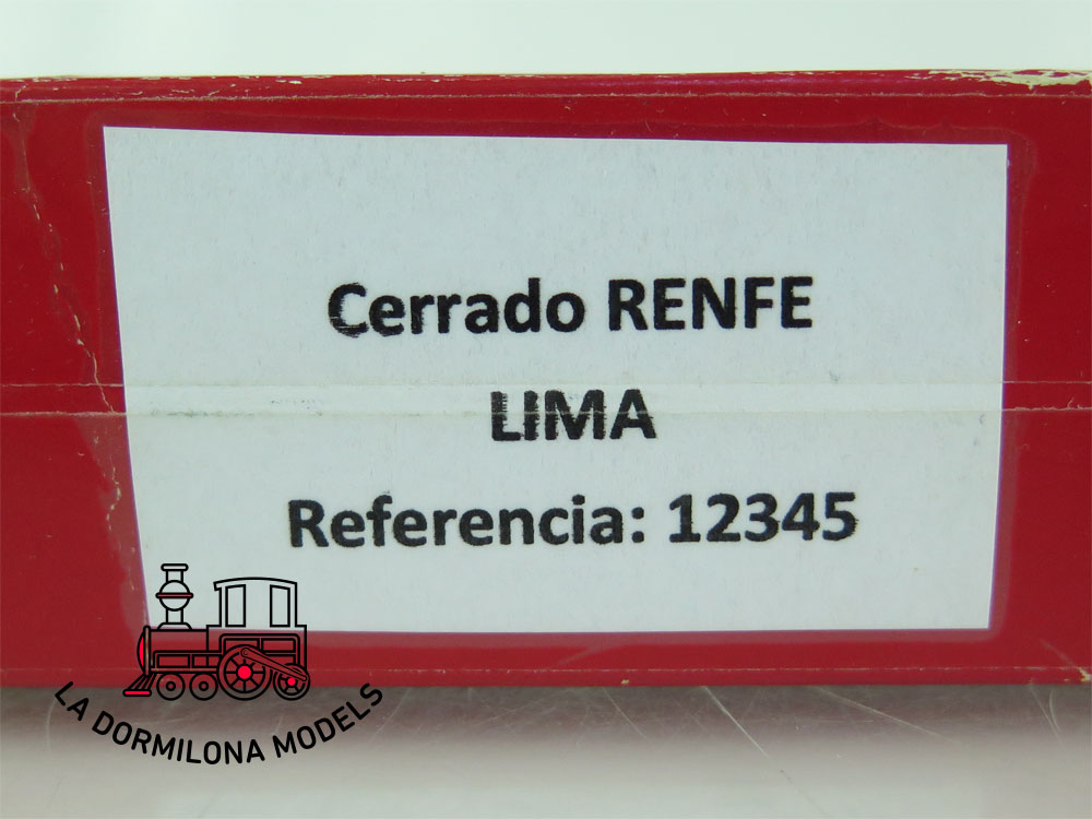JA191 H0 =DC ELECTROTREN VAGON MERCANCIAS CERRADO Jfhv 40136 RENFE - S/C