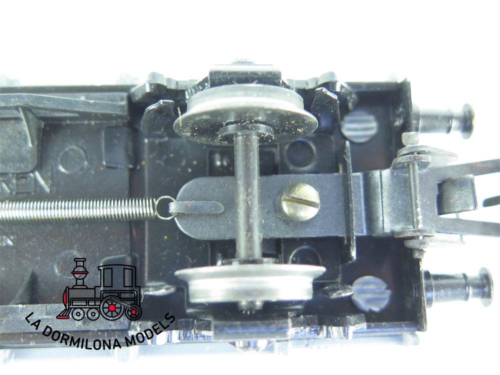 XA192 H0 =DC ELECTROTREN VAGON MERCANCIAS PORDES BAJOS Mfv351601 RENFE