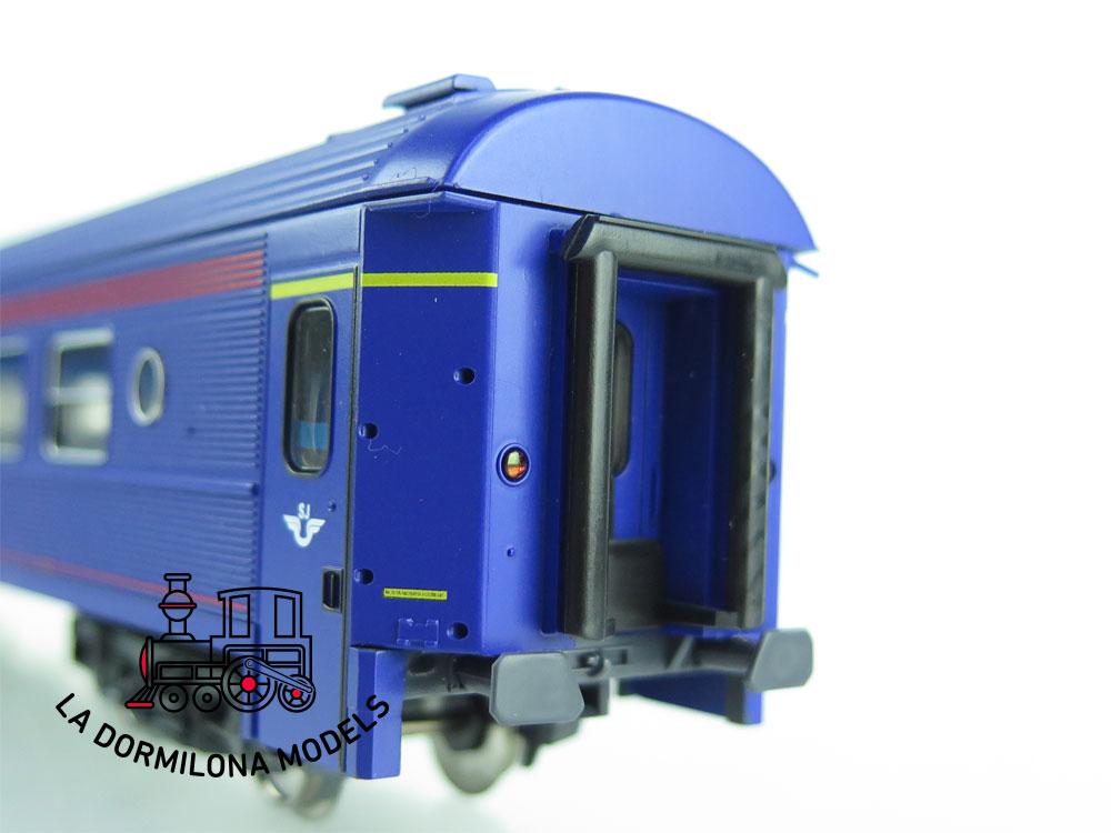 XA199 H0 =DC ROCO 45403 PERSONENWAGEN 1.Kl. 5519 der SJ - OVP