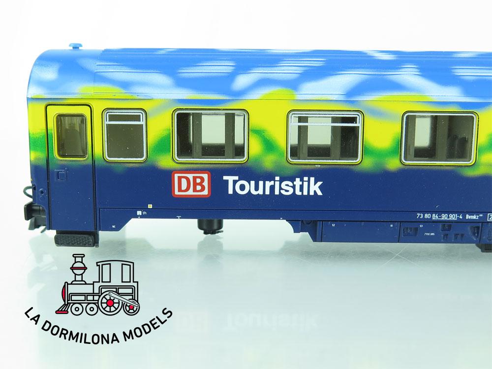 XA200 H0 =DC ROCO 45168 Abteilwagen 2.Kl.
