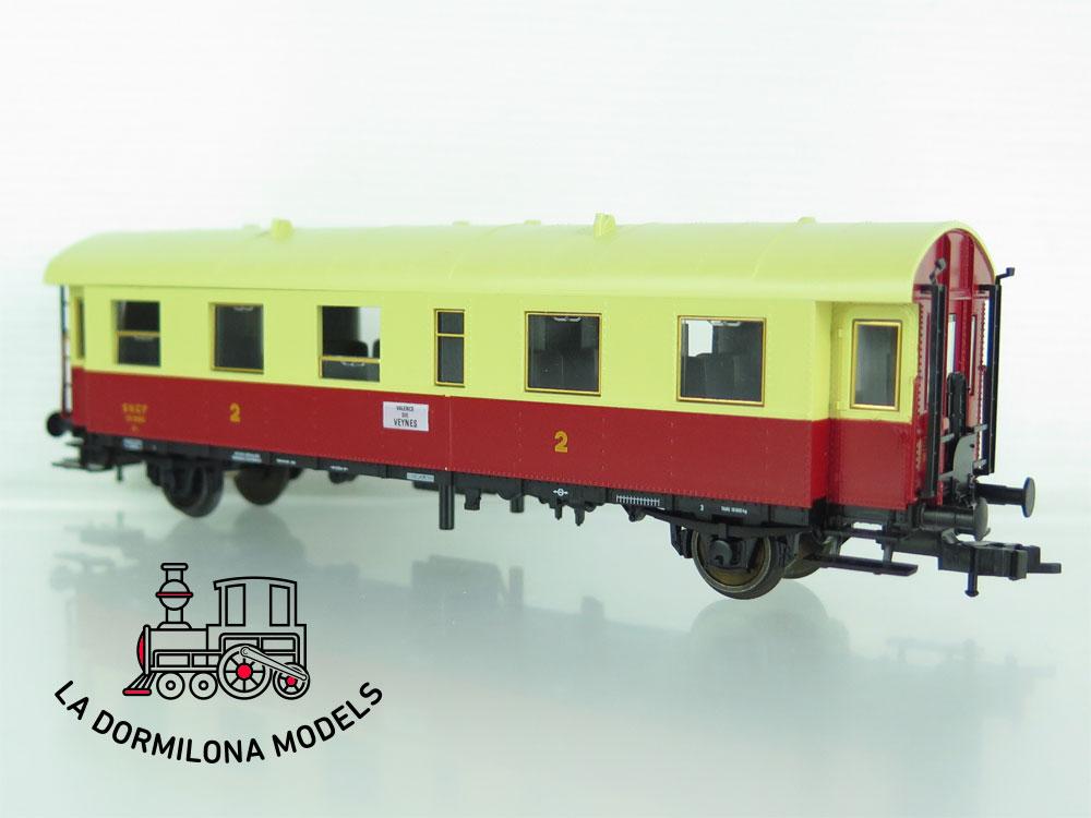 XA203 H0 =DC FLEISCHMANN 5071 AR COCHE PASAJEROS XR 9965 2ªClase de la SNCF - OVP