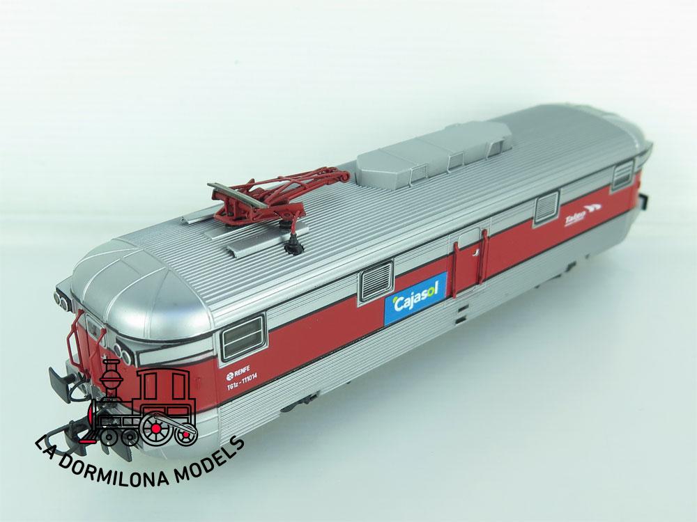 XA213 H0 =DC MABAR 81116 FURGON GENERADOR MANSO CAJASOL TALGO GRANDES LINEAS RENFE
