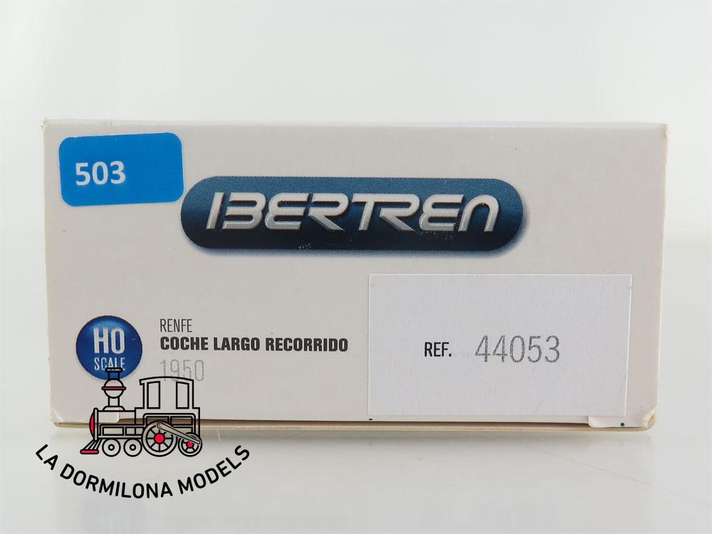 DA503 H0 =DC IBERTREN 44053 COCHE MADERA LARGO RECORRIDO CC-651 RENFE - OVP
