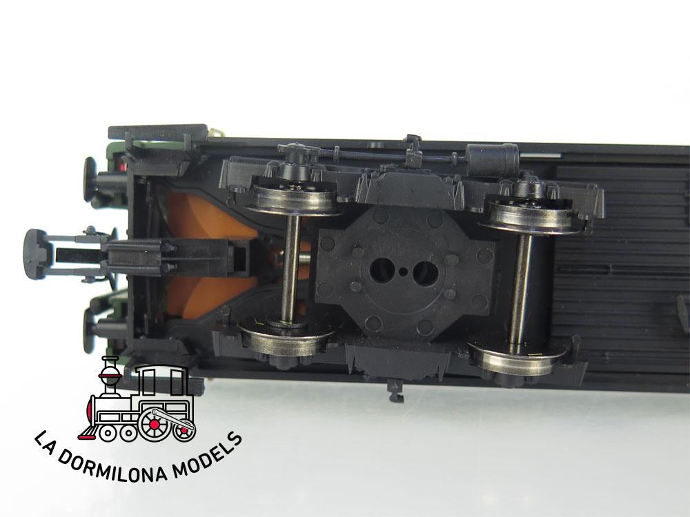 DA506 H0 =DC ELECTROTREN COCHE VIAJEROS BB-8562 2ª Clase RENFE 1ª