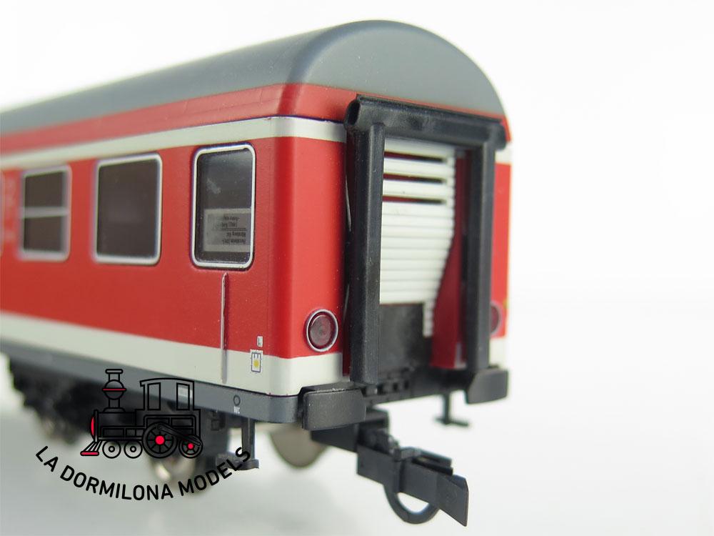 DA517 H0 =DC RIVAROSSI COCHE VIAJEROS REGIO DB II CLASE Bnrz 450.3 de la DB - S/C