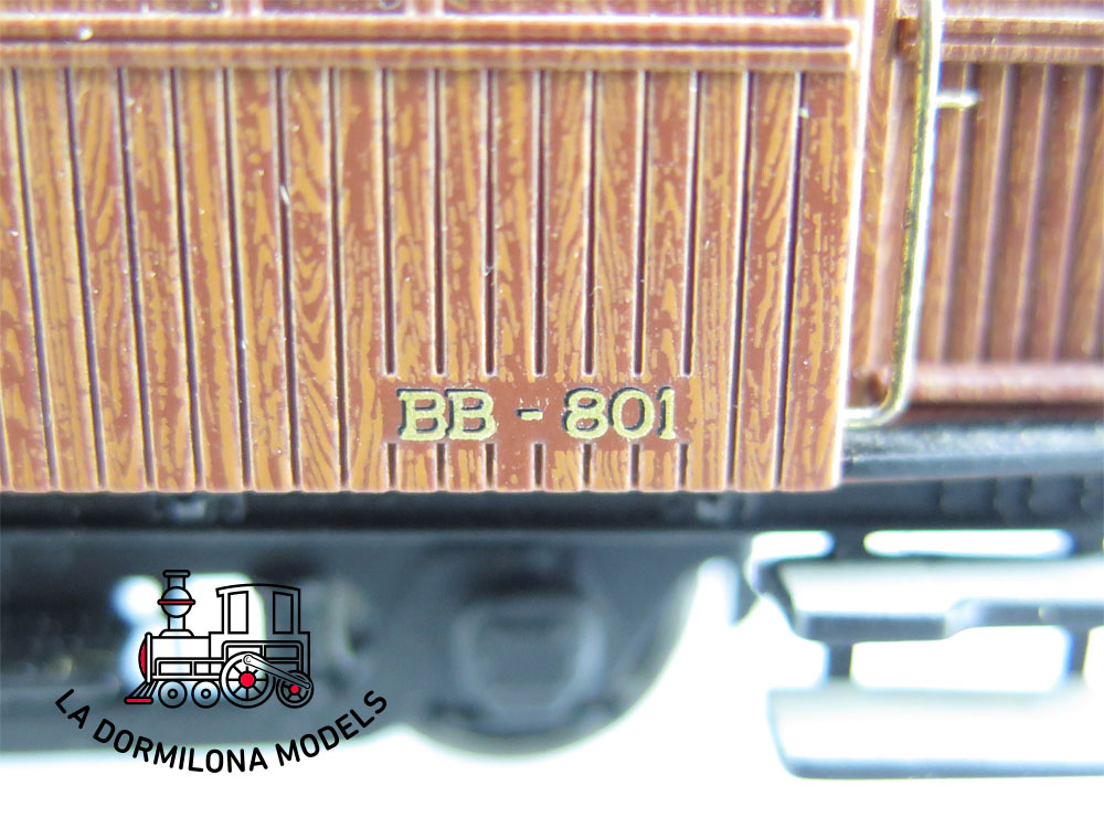 DA529 H0 =DC IBERTREN COCHE PASAJEROS II Clase BB-801 RENFE  S/C