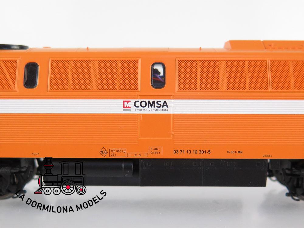 DA531 H0 =DC DIGITAL ROCO 62722 LOCOMOTORA DIESEL 51 LMZ 5122 COMSA - OVP