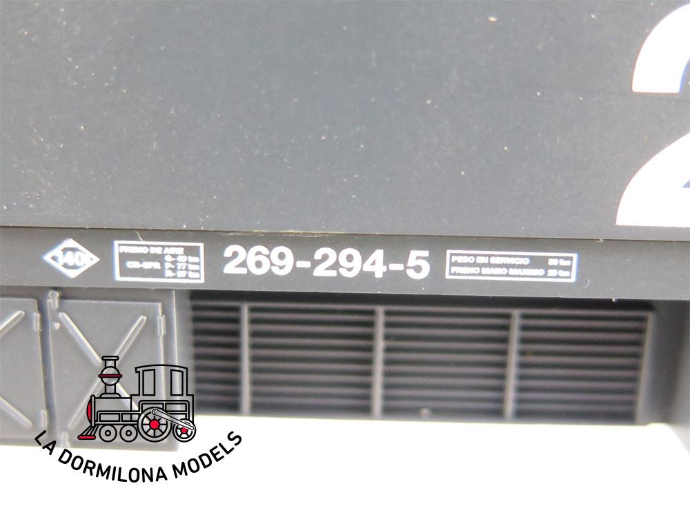 DA533 H0 =DC DIGITAL ELECTROTREN 2611 LOCOMOTORA 269-294 UN Largo Recorrido RENFE - OVP