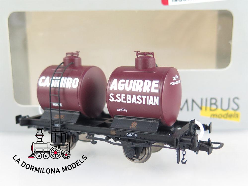 DA539 H0 =DC OMNIBUS MODELS 41100 VAGON CISTERNA BICUBA CASIMIRO AGUIRRE NORTE - OVP