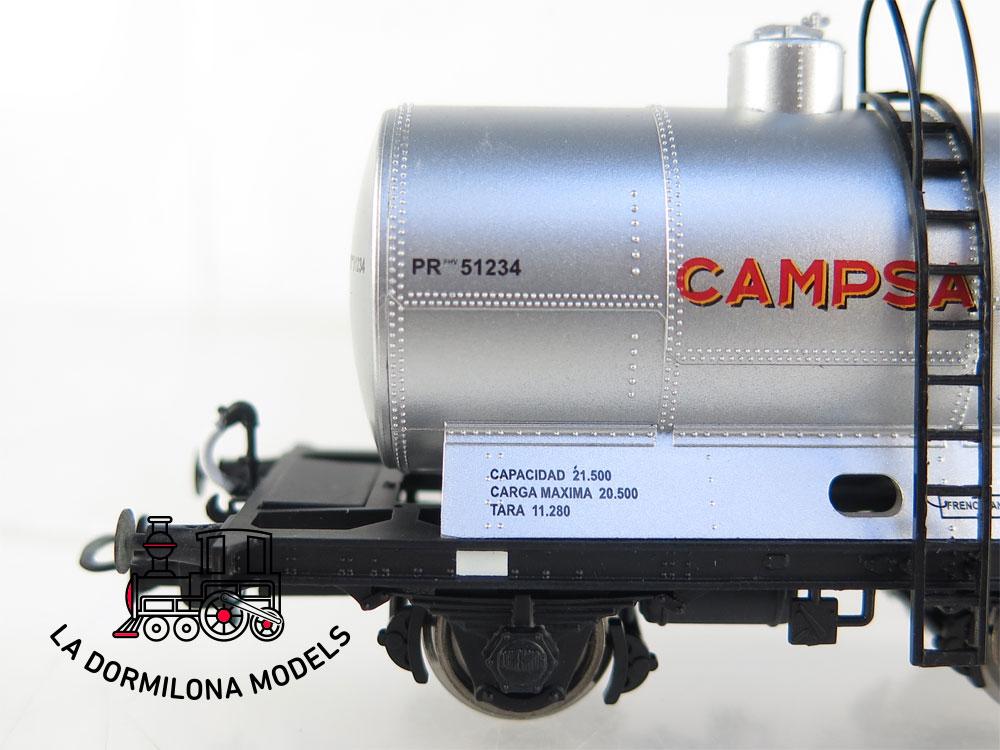 DM45 H0 =DC IBERTREN 45011 VAGON CISTERNA PRfv 51234 CAMPSA  - OVP