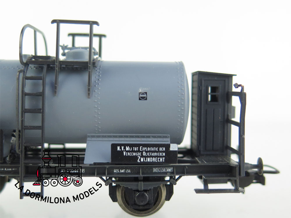 DM50 H0 =DC SACHSENMODELLE 16067 VAGON CISTERNA de la NS - S/C