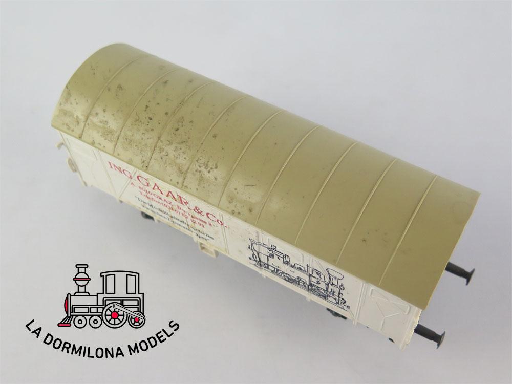DM52 H0 =DC ROCO VAGON MERCANCIAS ING. GAAR&Co - S/C