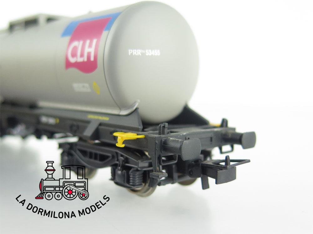 DM65 H0 =DC ELECTROTREN VAGON CISTERNA Zaes PRRhv 53455 CLH RENFE- S/C