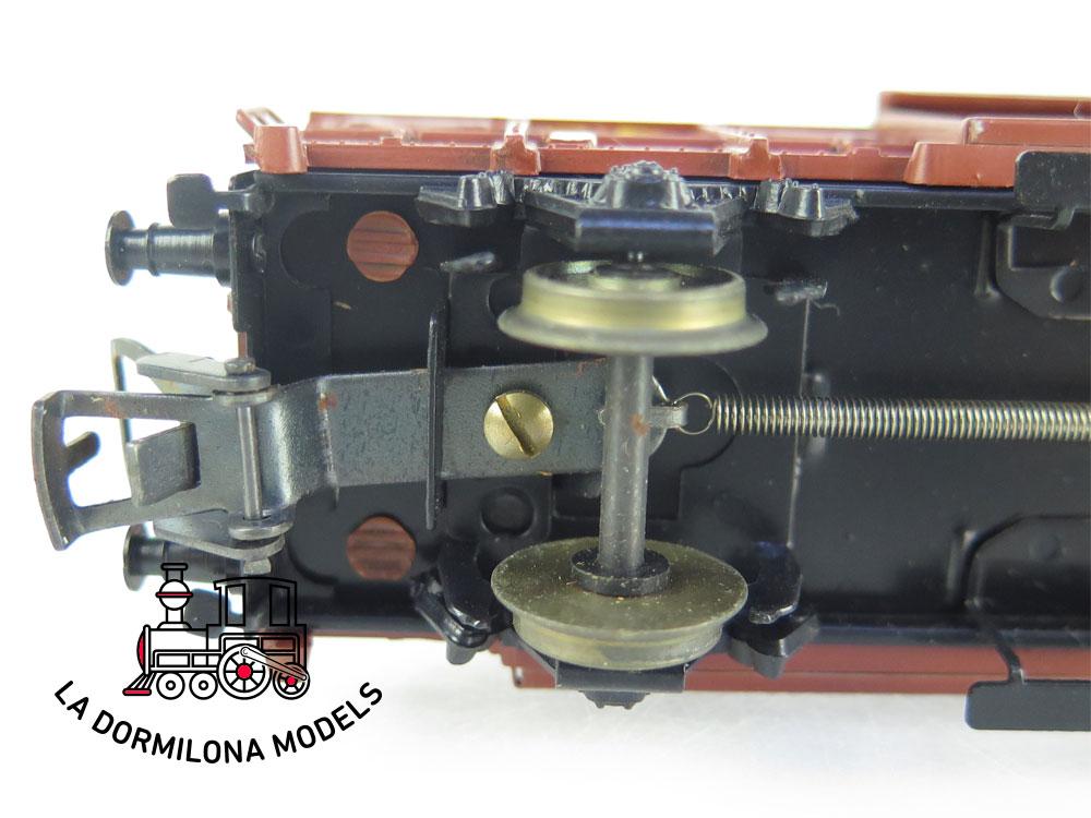 DM69 H0 =DC ELECTROTREN VAGON MERCANCIAS CERRADO JFHV 40136 TE RENFE - S/C
