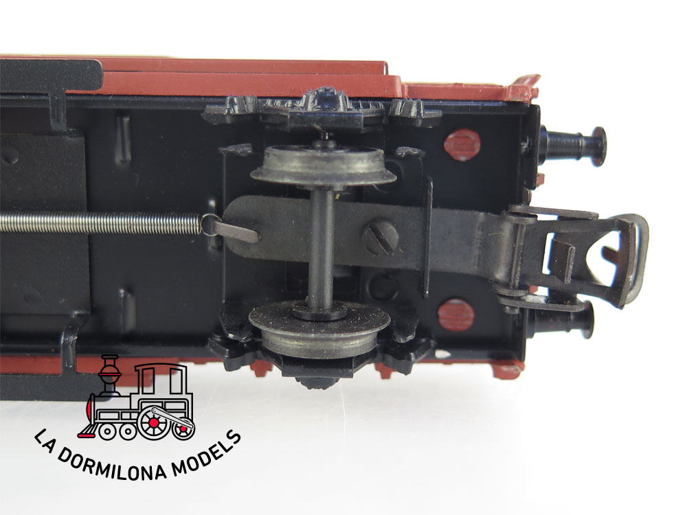 DM72 H0 =DC ELECTROTREN VAGON MERCANCIAS CERRADO JFHV 40136 RENFE - S/C