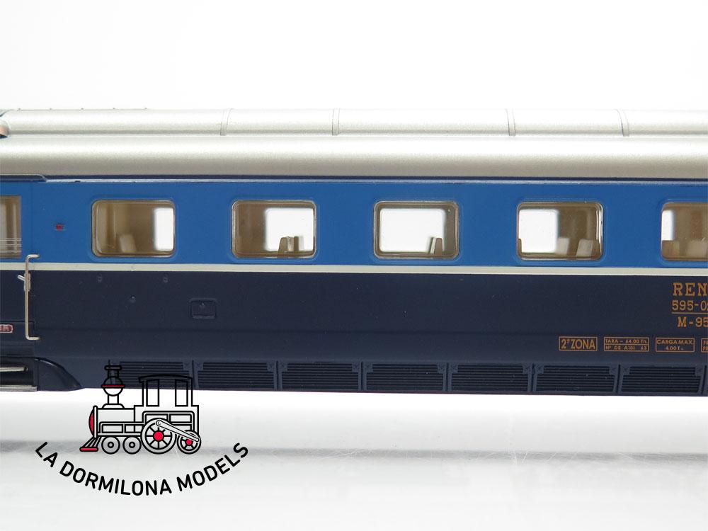 DM323 H0 =DC DIGITAL IBERTREN 47030 RENFE TREN TAF 2ª SERIE REFORMADA Ep.IV - OVP