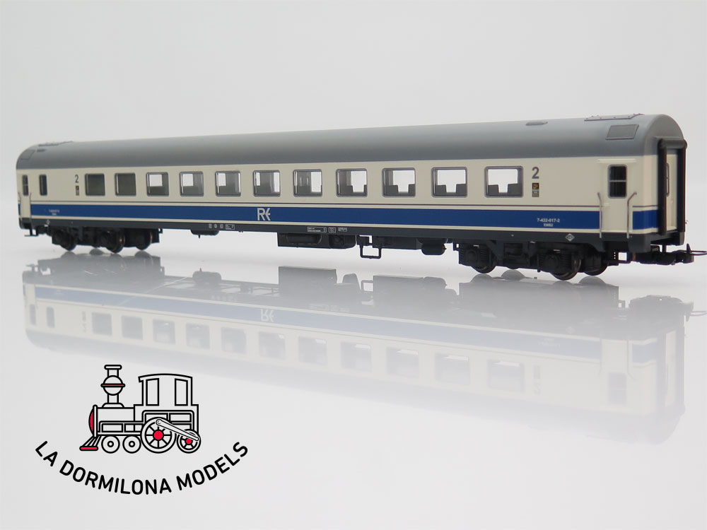 DM325 H0 =DC DIGITAL MABAR 84323 AUTOMOTOR ELECTRICO UT432 INTERCITY RENFE - OVP