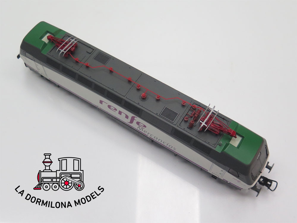 DM328 H0 =DC DIGITAL ELECTROTREN E2524 LOCOMOTORA ELECTRICA 252.017 RENFE MERCANCIAS - OVP