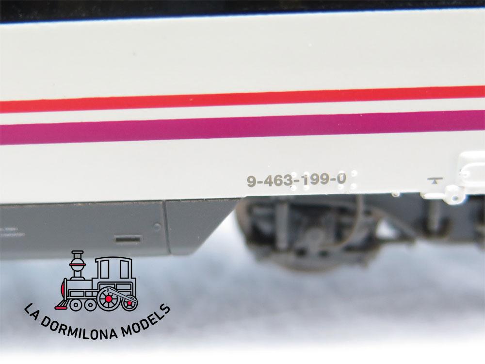 DM331 H0 =DC  ELECTROTREN E3463 UNIDAD DE TREN CIVIA CERCANIAS 463 RENFE - OVP