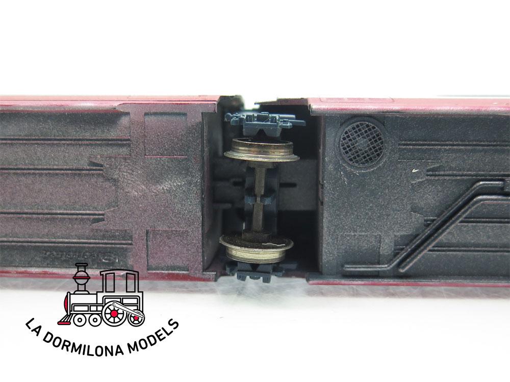 DM332 H0 =DC  ELECTROTREN PROTOTIPO TALGO TRAVCA RENFE (artesanal)- OVP