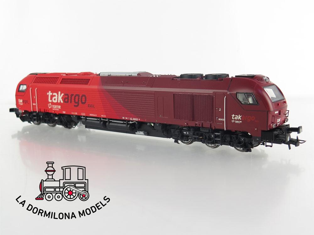 DM81 H0 =DC DIGITAL SEDEXPRESS SUTK600312 TAKARGO Locomotive nº 6003  - OVP