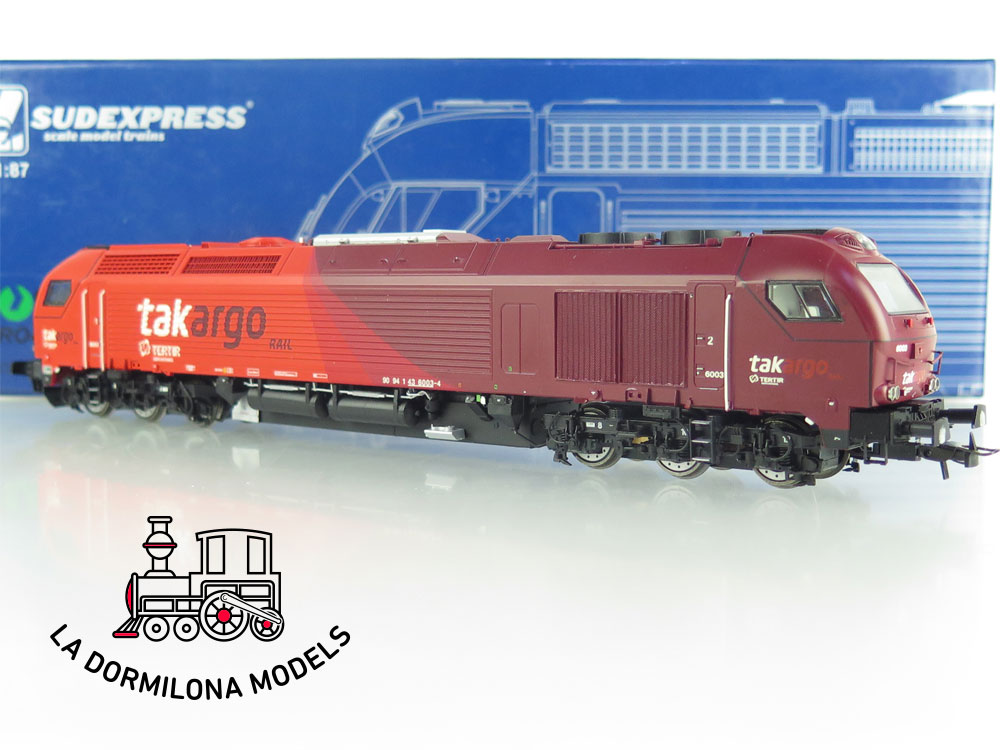 DM81 H0 =DC DIGITAL SEDEXPRESS SUTK600312 TAKARGO Locomotive nº 6003  - OVP