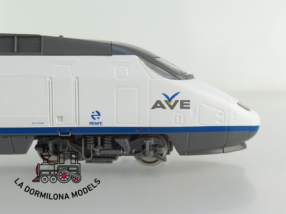 DM83 H0 =DC MEHANO - UNIDAD DE TREN ALTA VELOCIDAD AVE EUROMED ALSTOM RENFE - S/C