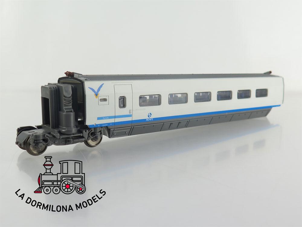 DM85 H0 =DC MEHANO - COCHE ADICIONAL TURISTA 6-100-008-2 AVE RENFE - S/C
